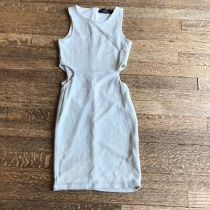 PROM sequined mini dress